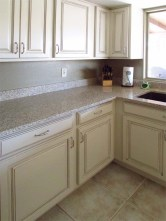 Good quality, cream color kitchen cabinets, light granite countertops - 783 W Park Ave, Chandler Arizona - American Woodmark Cabinets - Bill Salvatore, Arizona Elite Properties 602-999-0952 - Arizona Real Estate