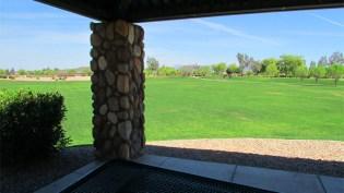 view through picnic ramada to huge open, grassy field - 1795 W Gold Mine Way, Queen Creek, Arizona 85142 - Huge grassy community parks - Bill Salvatore, Arizona Elite Properties 602-999-0952 - Arizona Real Estate