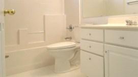 all-white bathroom off family room - 3 full baths - 1162 S Sandstone St, Gilbert AZ - Bill Salvatore, Arizona Elite Properties 602-999-0952 - Arizona Real Estate