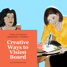 Does the idea of creating a vision board sound silly? What if it wasn't about cutting out a photo of a yacht from a magazine?