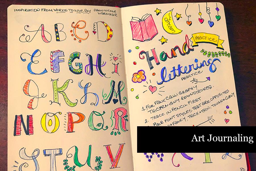 How to Journal - Art Journaling