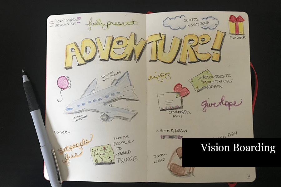 How to Journal - Vision Boarding