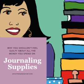 There are three myths that make us question the money we spend on journaling supplies. Let's bust those!