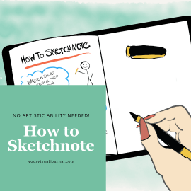 If you've ever wanted to try sketchnoting, here are 7 truly easy things you can do while taking notes to get you started.