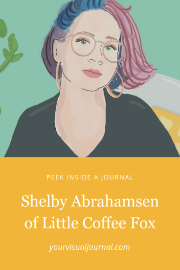 See inside a journal! Shelby Abrahamsen of Little Coffee Fox
