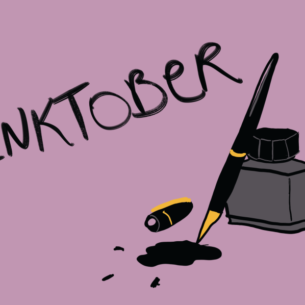 Chase away your creative blues with Inktober 2021