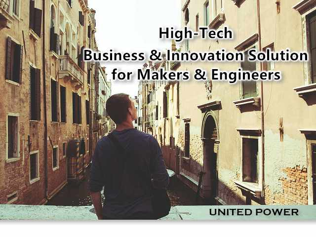 High-Tech Business & Innovation Solution for Makers and Engineers