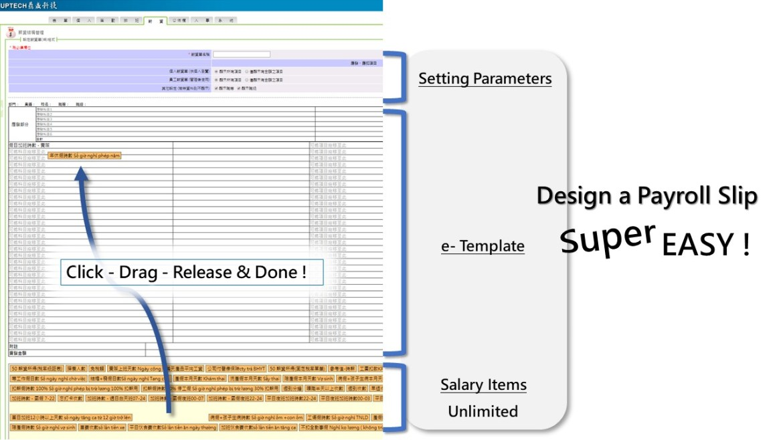 payroll slip design super easy