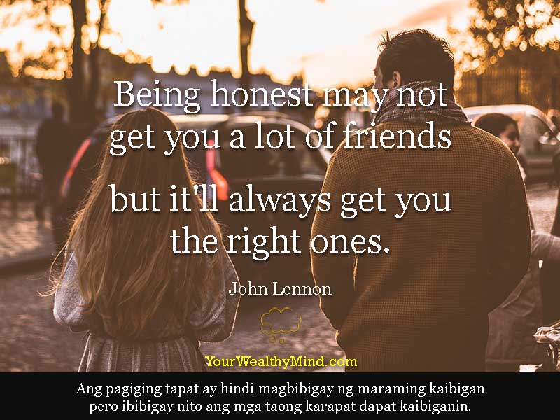 Quote-honest-friends-tag