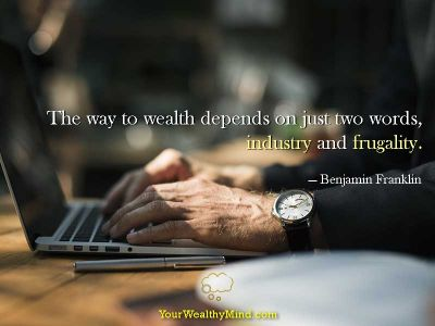 Quote-industry-frugality