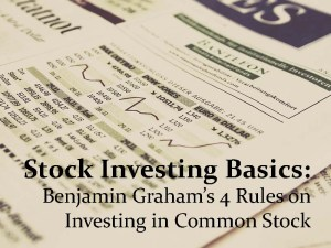 stock investing basics pixabay
