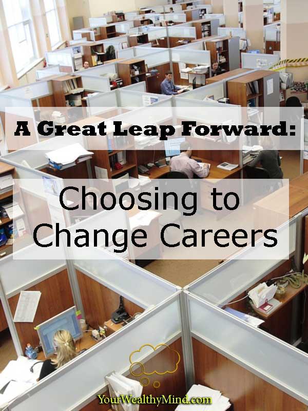 great leap forward choosing to change careers