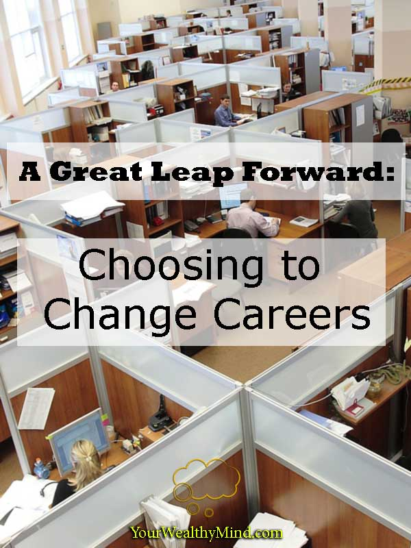 great leap forward choosing to change careers