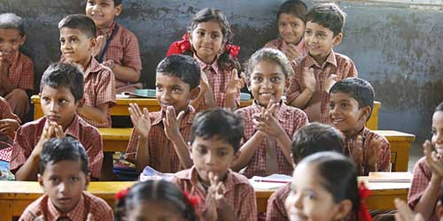 classroom children happy pixabay