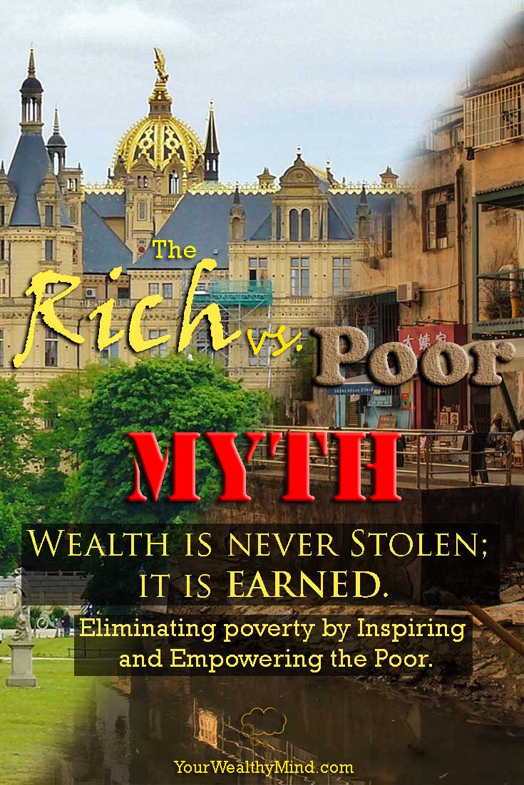 pixabay rich vs poor myth wealth earned yourwealthymind your wealthy mind