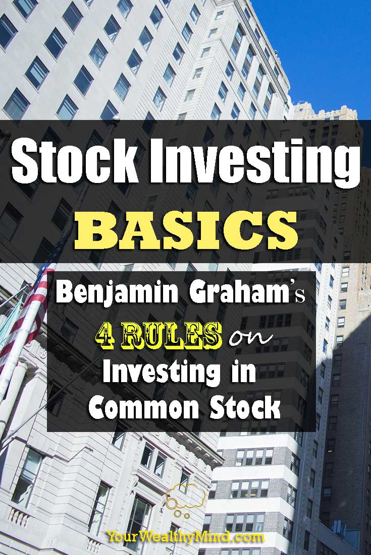 stock investing basics pixabay yourwealthymind your wealthy mind benjamin graham