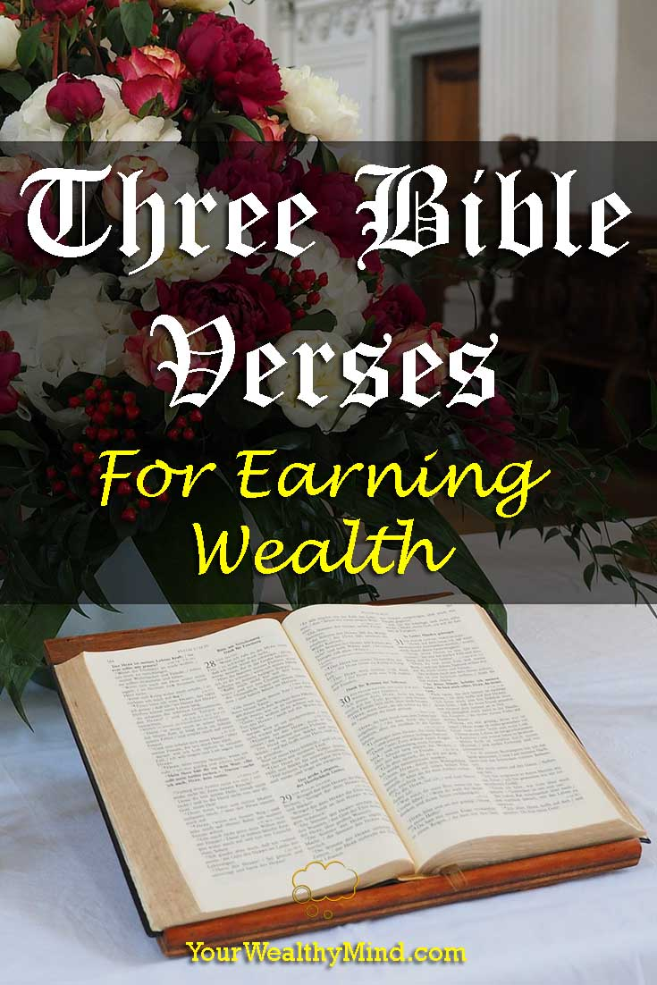 Three Bible Verses for Earning Wealth - YourWealthyMind