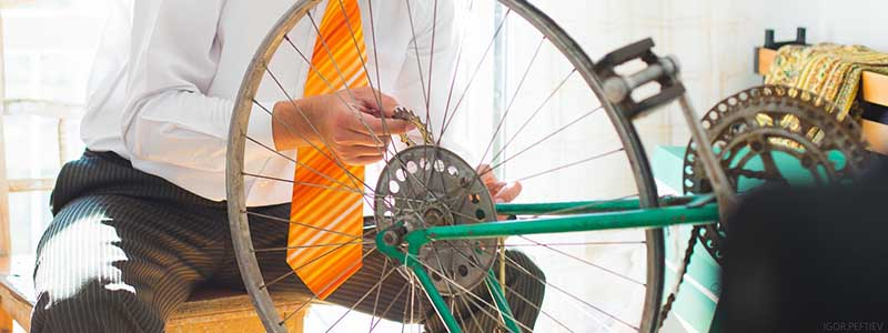 bicycle repair maintenance fix