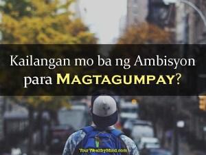 Kailangan mo ba ng Ambisyon para Magtagumpay?