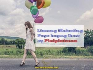 Limang Mabuting Payo kapag ikaw ay Pinipintasan