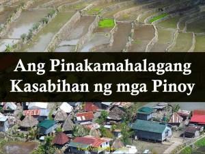 Ang Pinakamahalagang Kasabihan ng mga Pinoy Your Wealthy Mind
