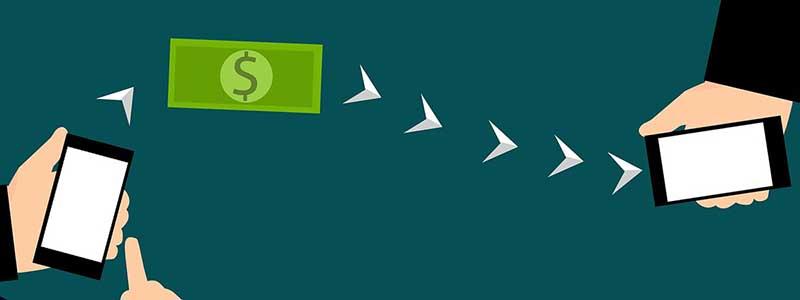 transfer money sending phones