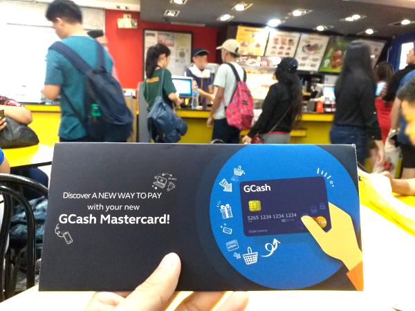 gcash mastercard ministop