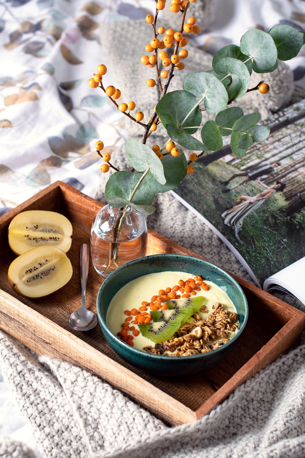 Healthy, warming breakfast is the best start of the day.