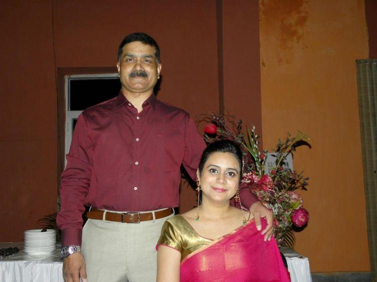 Mamta kale With Her Husband