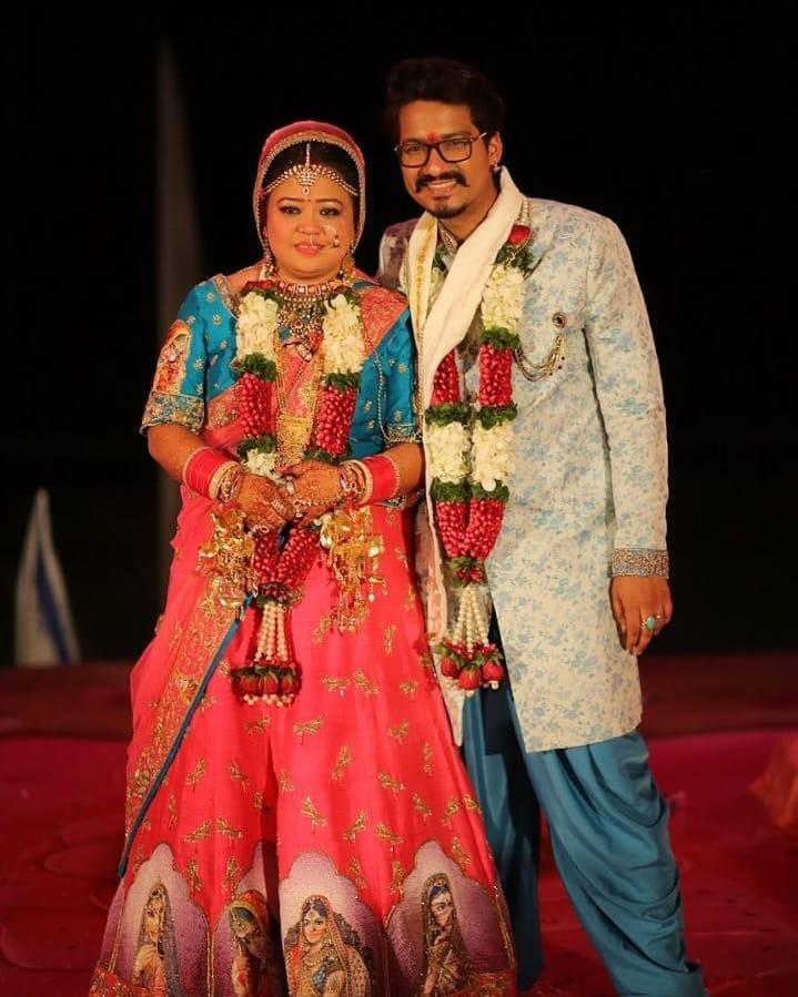 Bharti Singh with her Husband Haarsh Limbachiyaa
