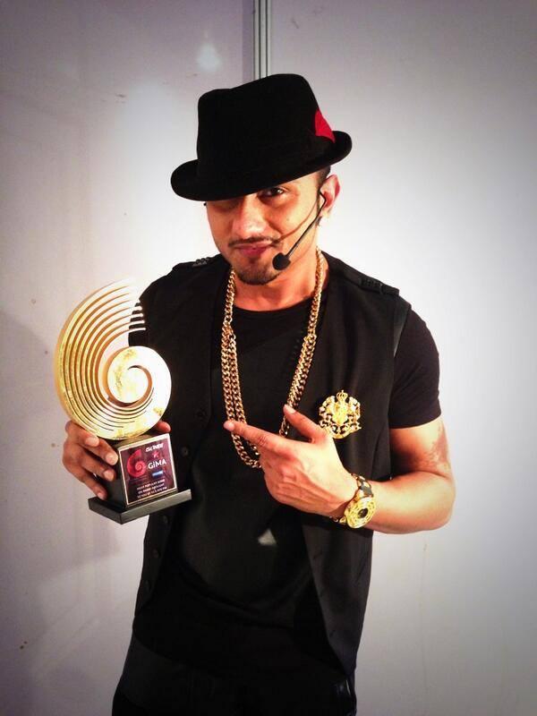 GIMA award for Lungi Dance