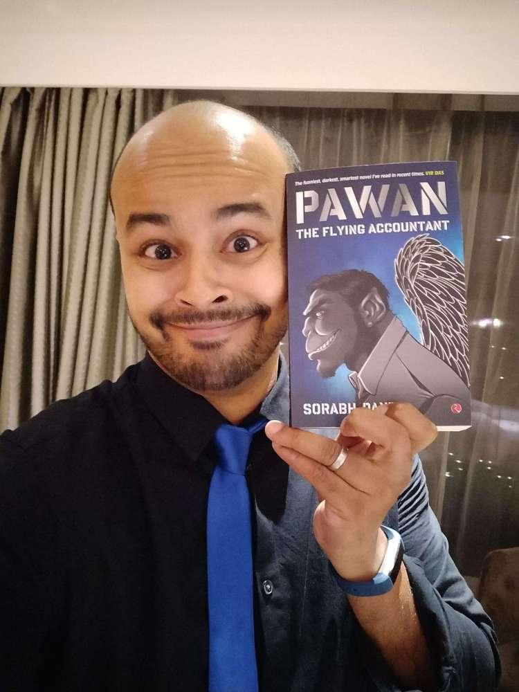 Sorabh launching novel 'Pawan'