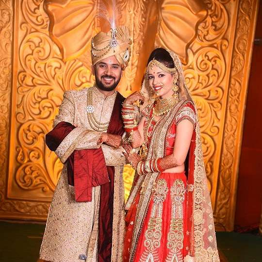 RJ Kartik with his wife Ashvini Vyas