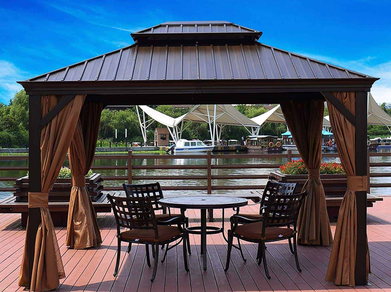 Best Gazebo for Windy Areas/High Winds-Our Reviews! - Your Yard Guru