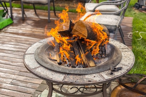 , 60 Cheap Metal Fire Pit Ideas-Relax Outdoors!