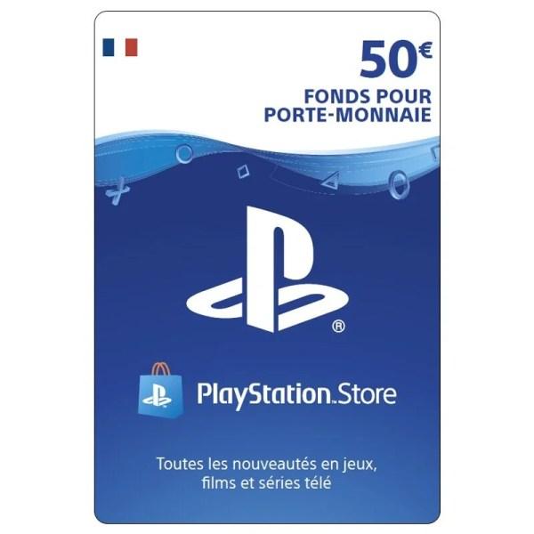 carte playstation 50 euro