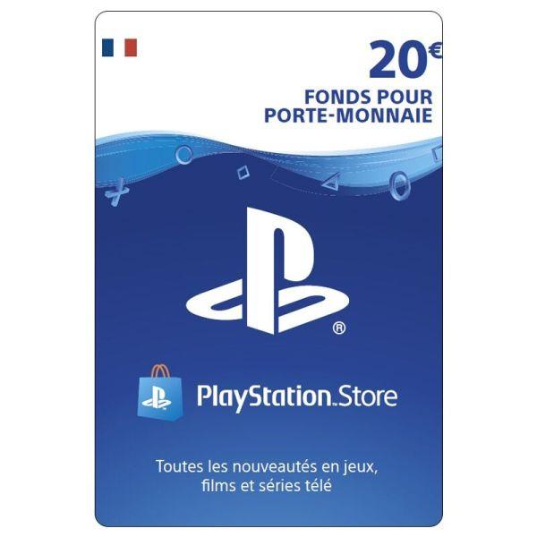 carte playstation 20 euro