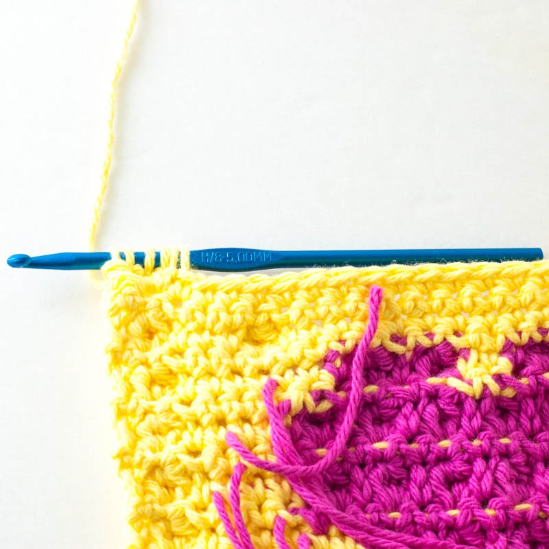 how to make a bobble stitch crochet