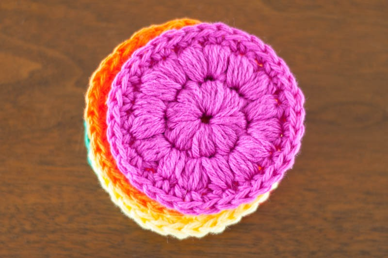 Crochet Face Scrubbies You Should Craft