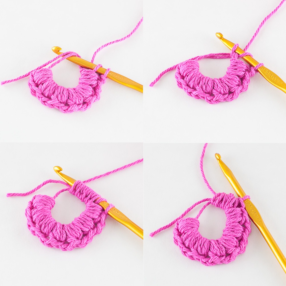Crochet Face Scrubbies | You Should Craft