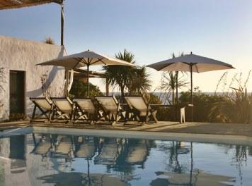 Posada del Faro pool chairs