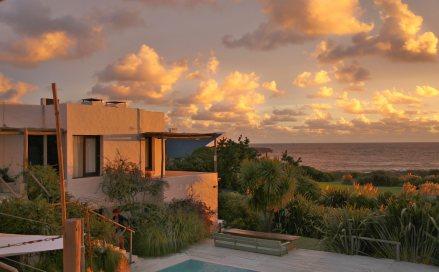 Posada del Faro sunset clouds