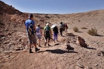 Atacama Desert Devil's Canyon hiking