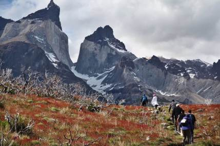 The Horns Torres del Paine trekking