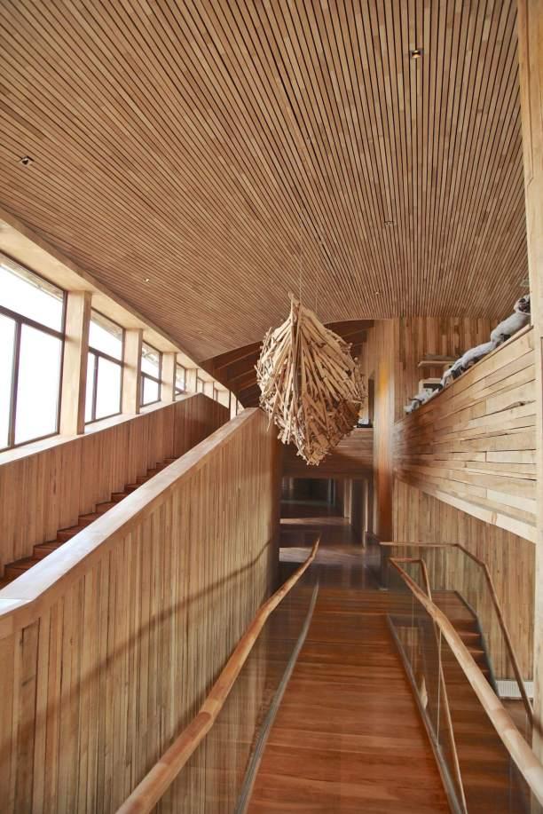 Tierra Patagonia interior hallway