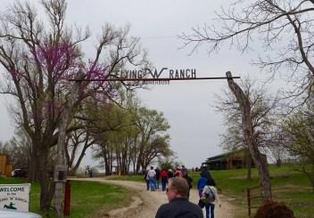 Flying W Ranch entrance