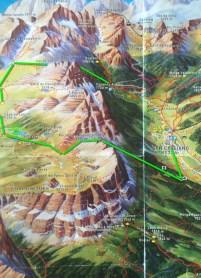 Fanes-Senes-Braies trails