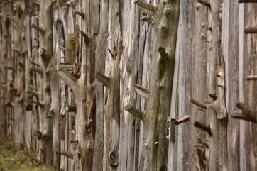 Audubon Rowe Center fence detail