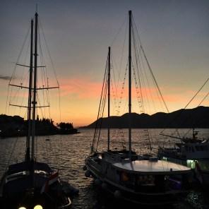 Korcula sunset