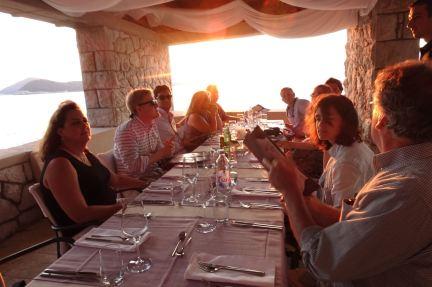 Villa Ruža restaurant
